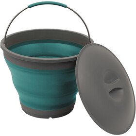 Outwell Collaps Bucket with Lid, deep blue